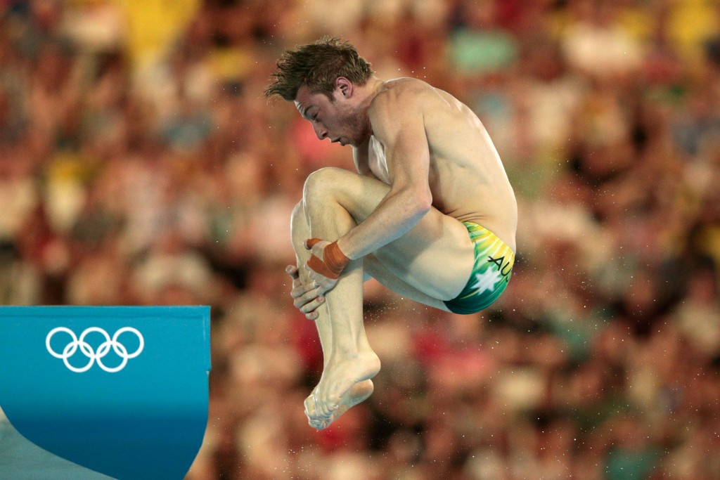 Matthew Mitcham competed at the London 2012 Games, but failed to reach the final ©Getty Images
