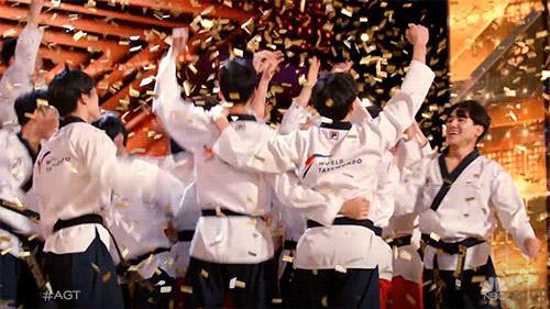 Golden buzzer puts World Taekwondo demonstration team into America's Got Talent live show