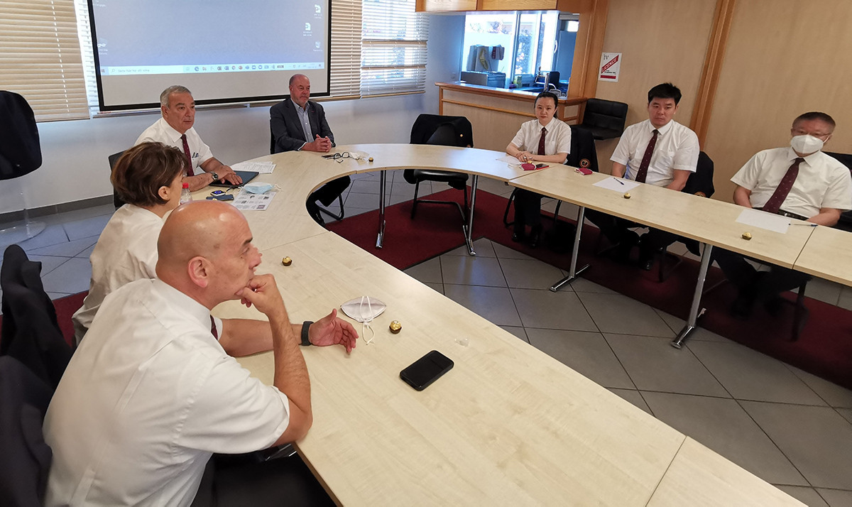 WKF President Espinós meets referees preparing for sport's Olympic debut
