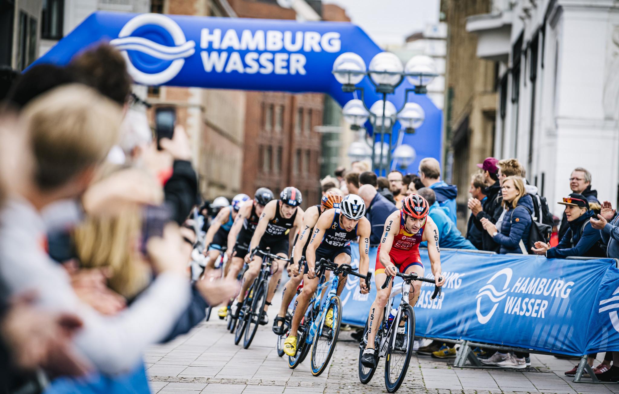 Postponed Hamburg World Triathlon Championship Series event will now start 2021-2022 season
