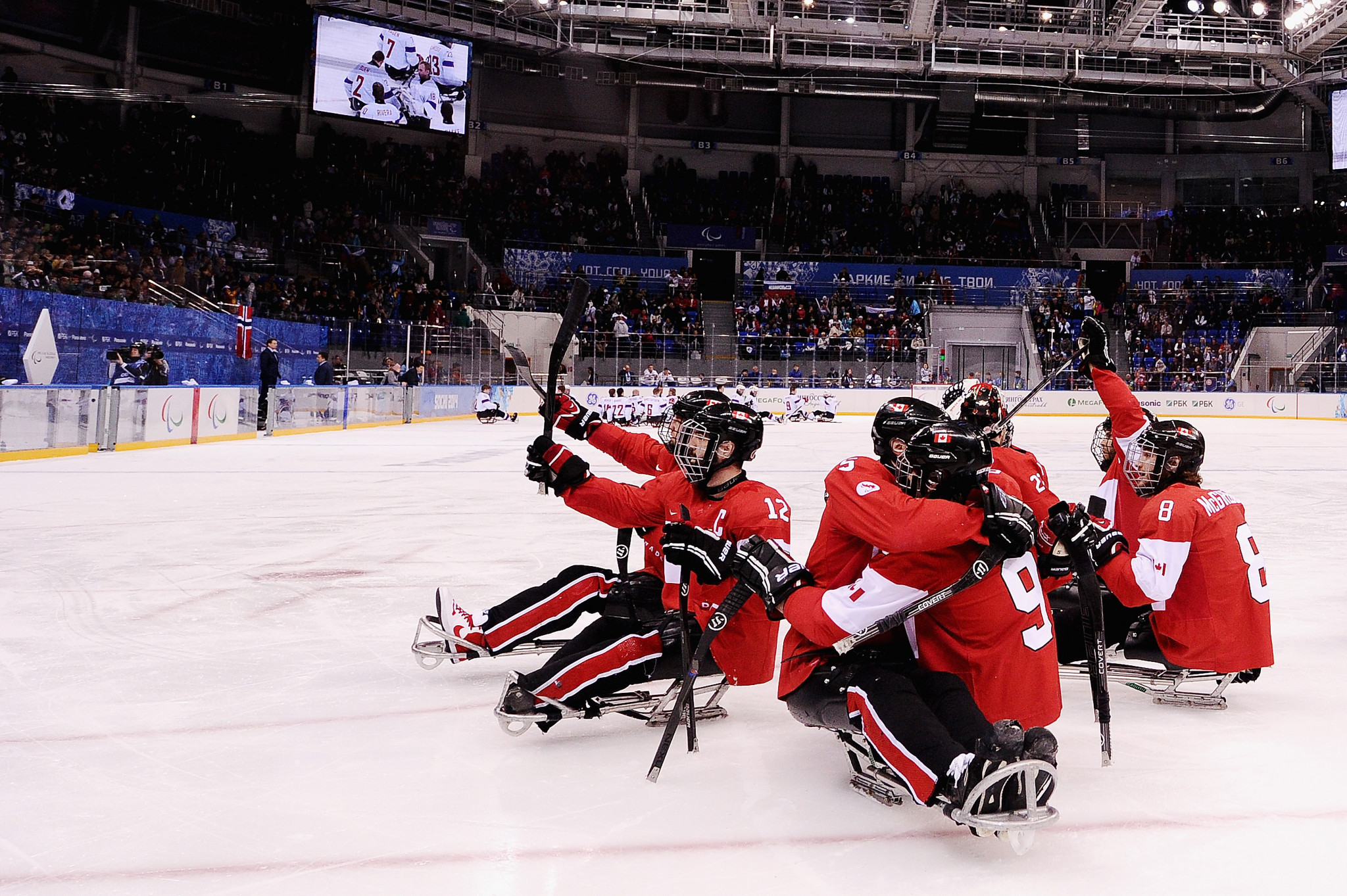 Canada and Russian Paralympic Committee finish top of groups at World Para Ice Hockey Championships