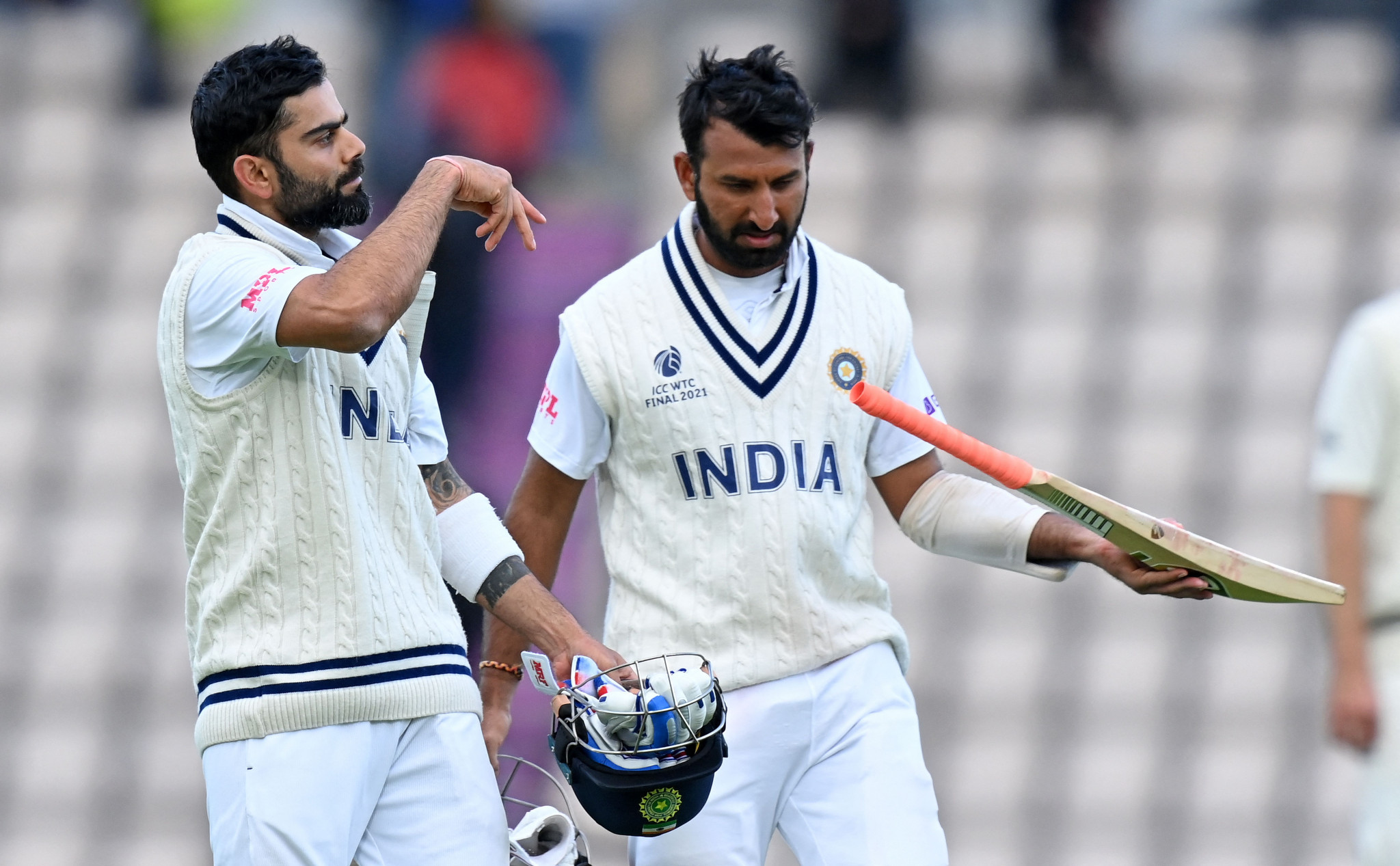 India lead New Zealand as second innings start at ICC World Test Championship Final