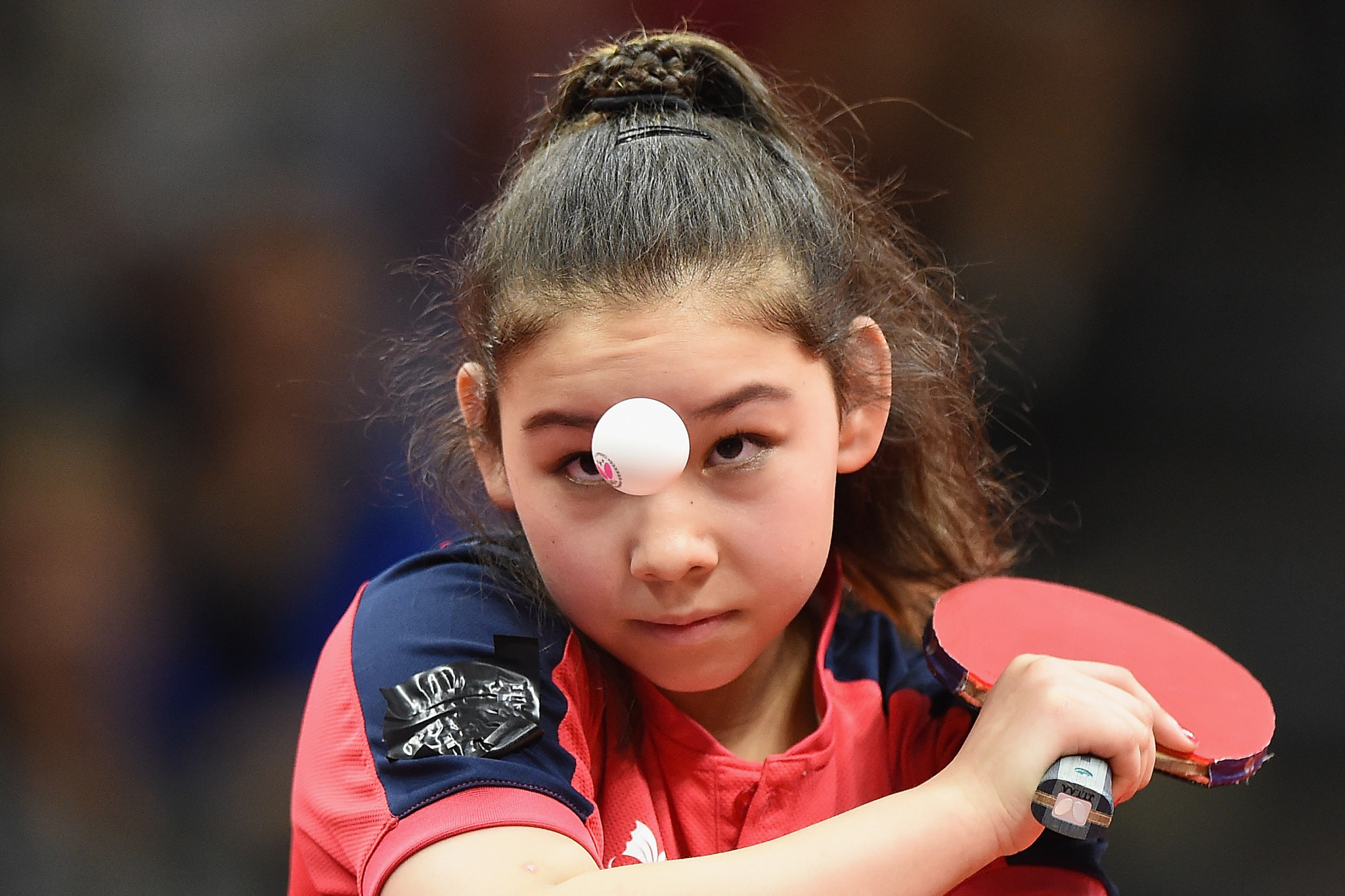 Hursey, 15, among surprise winners on opening day of European Table Tennis Championships