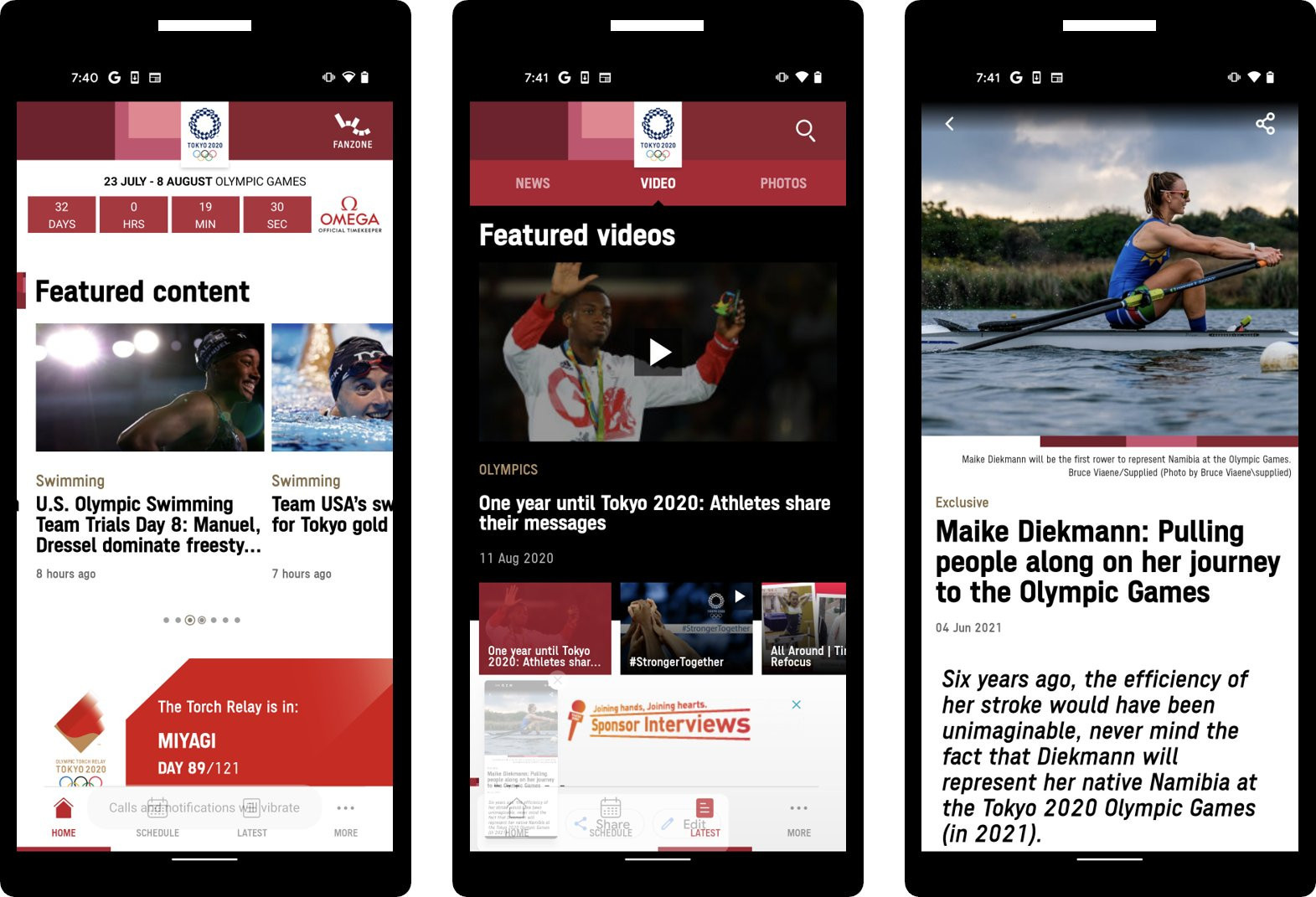 Tokyo 2020 launch official mobile app to mark a month before Olympics
