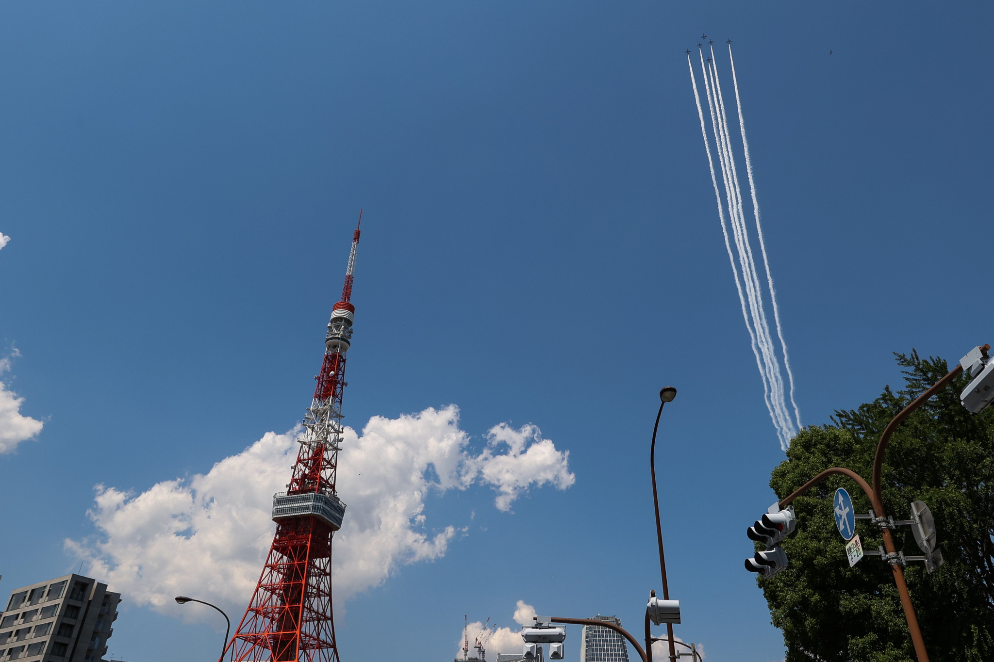 Blue Impulse set for dramatic flypast on opening day of Tokyo 2020 Olympics