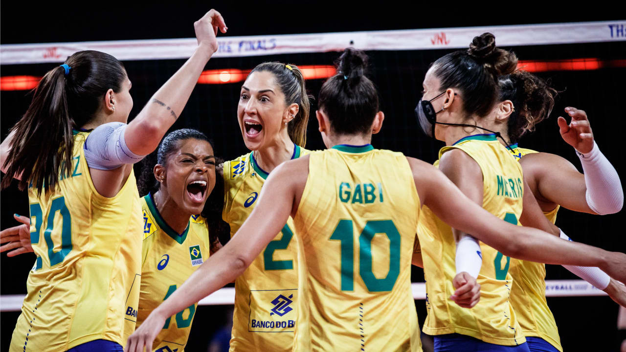 United States and Brazil set up final rematch in women's Volleyball Nations League