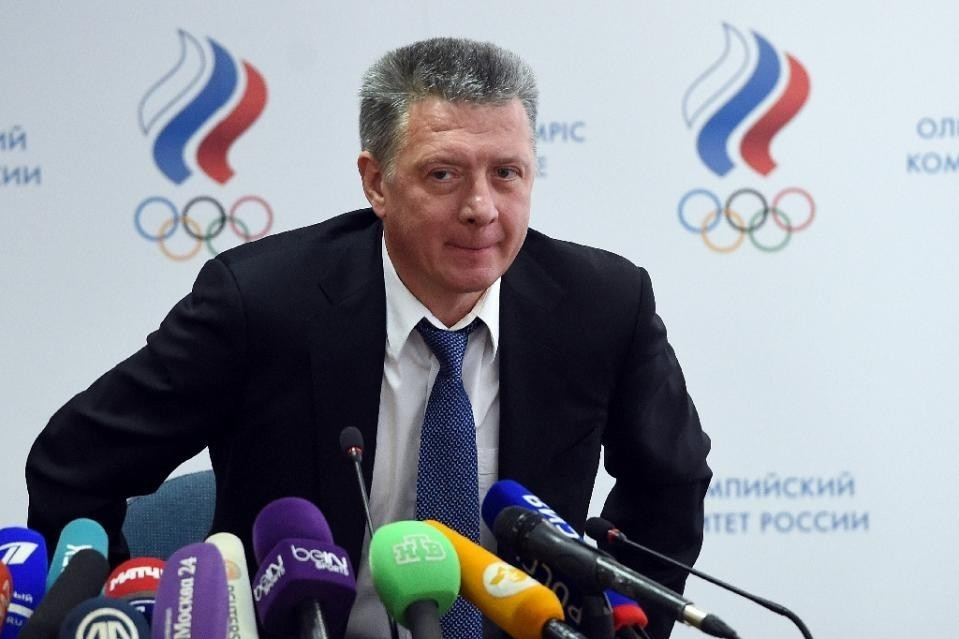 Dmitry Shlyakhtin has been appointed ARAF President to replace Valentin Balakhnichev ©AFP/Getty Images