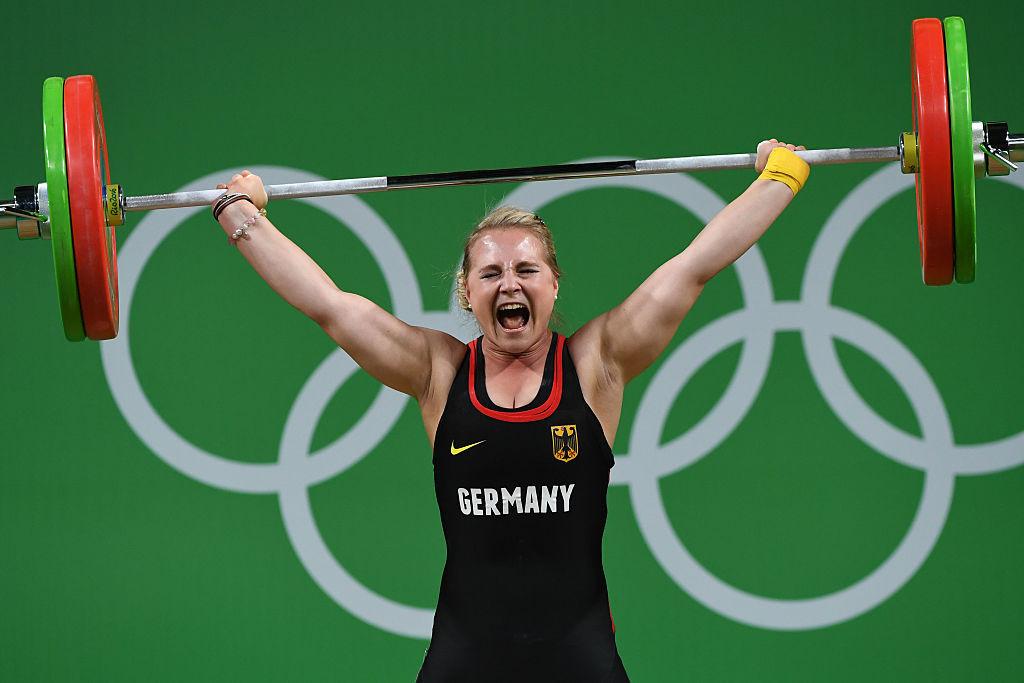 Sabine Kosterer se numără printre halterofilii germani care au beneficiat de suspendarea României de la competițiile de haltere Tokyo 2020 © Getty Images