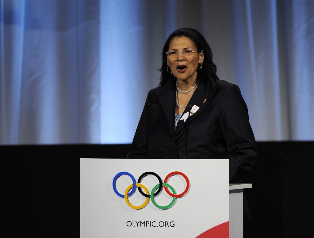 Anita DeFrantz will advise Los Angeles 2024 on how they could maximise legacy should they be awarded the Games