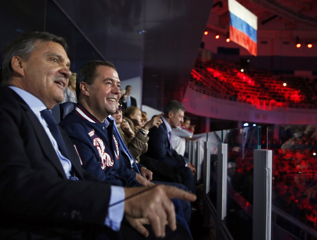 IIHF President René Fasel's strong support in Russia has forced one potential Presidential candidate to decide not to stand ©Getty Images