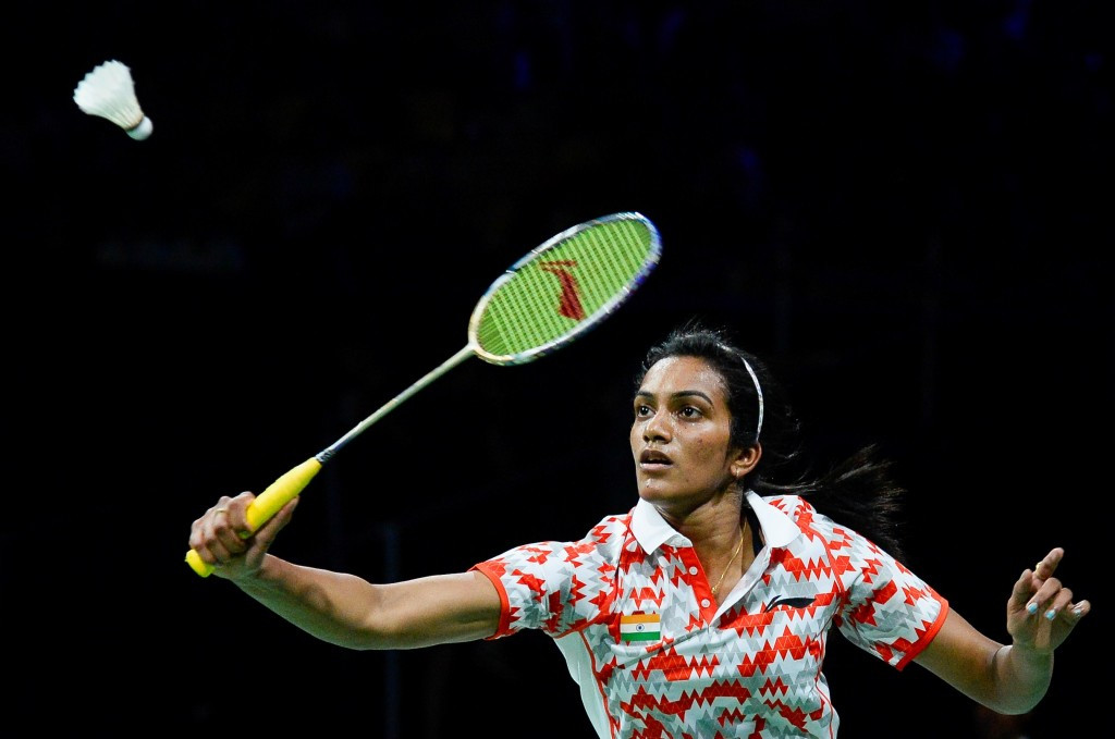 Badminton silver medallist P.V. Sindhu and wrestling bronze medallist Sakshi Malik won India's only two medals in Rio ©Getty Images