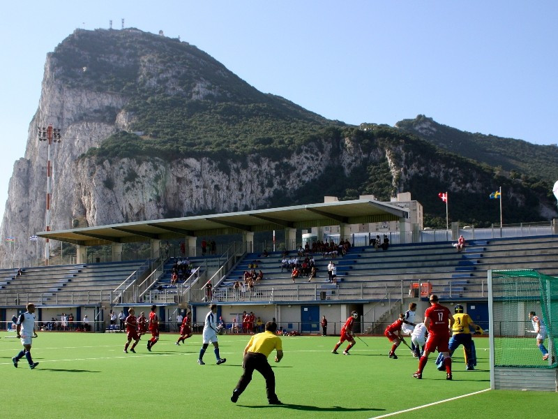 A row has broken out after it was claimed that the European Hockey Federation had ordered Spanish to stop playing matches against clubs from Gibraltar ©GHA