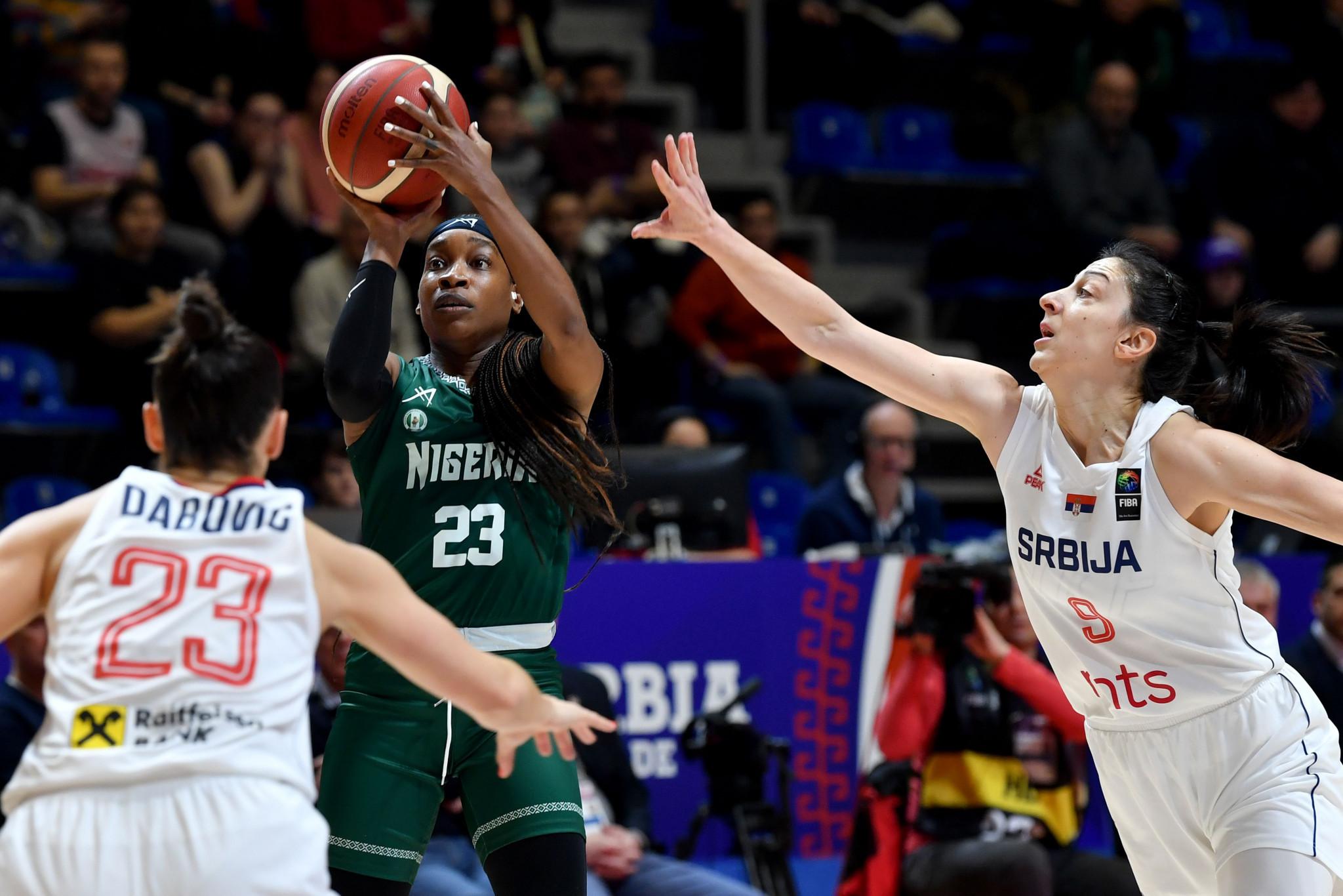 Nigerian basketball star Ezinne Kalu also runs a cosmetics business © Getty Images