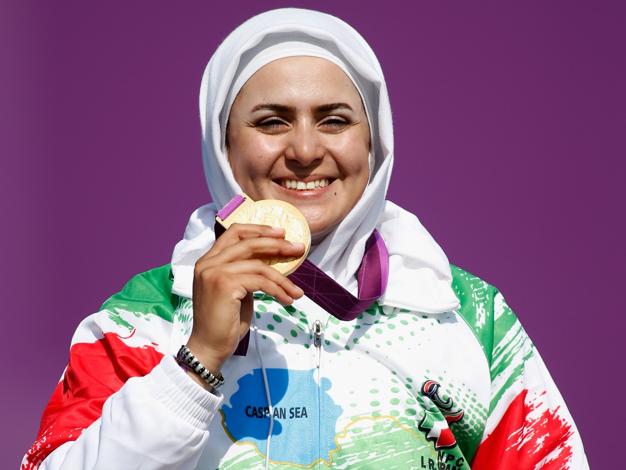 Zahra Nemati was the very first Iranian woman to win a Paralympic gold © Getty Images