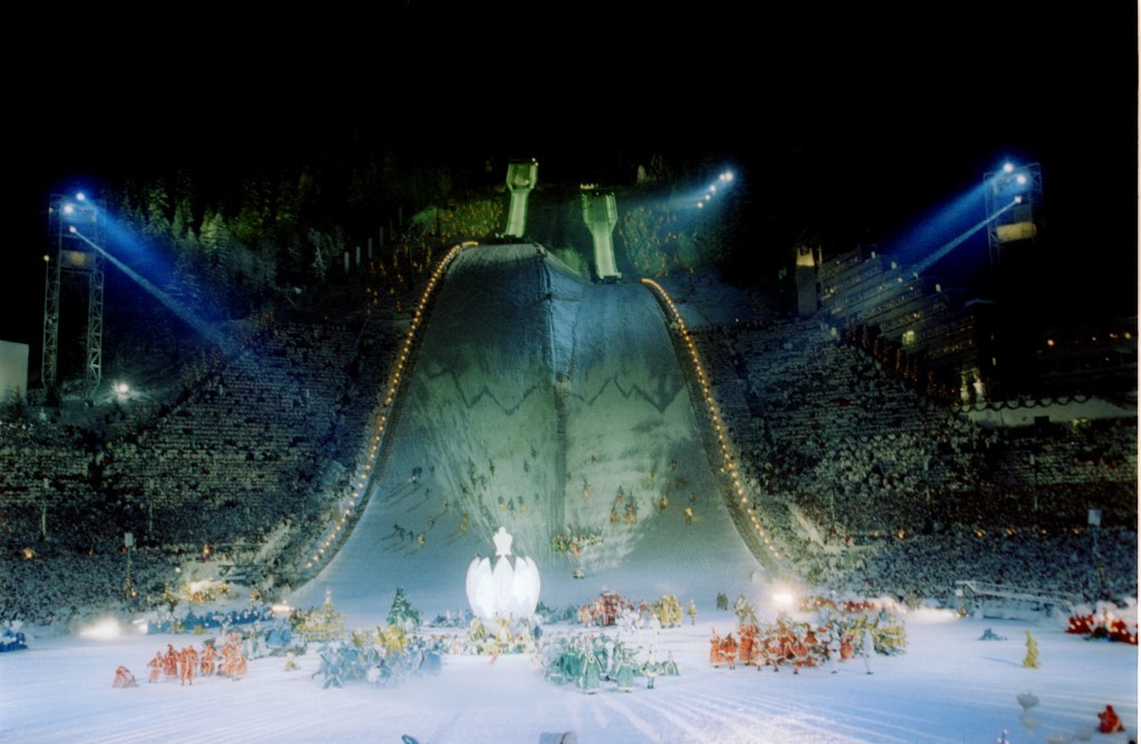 1994 Winter Olympics opening ceremony