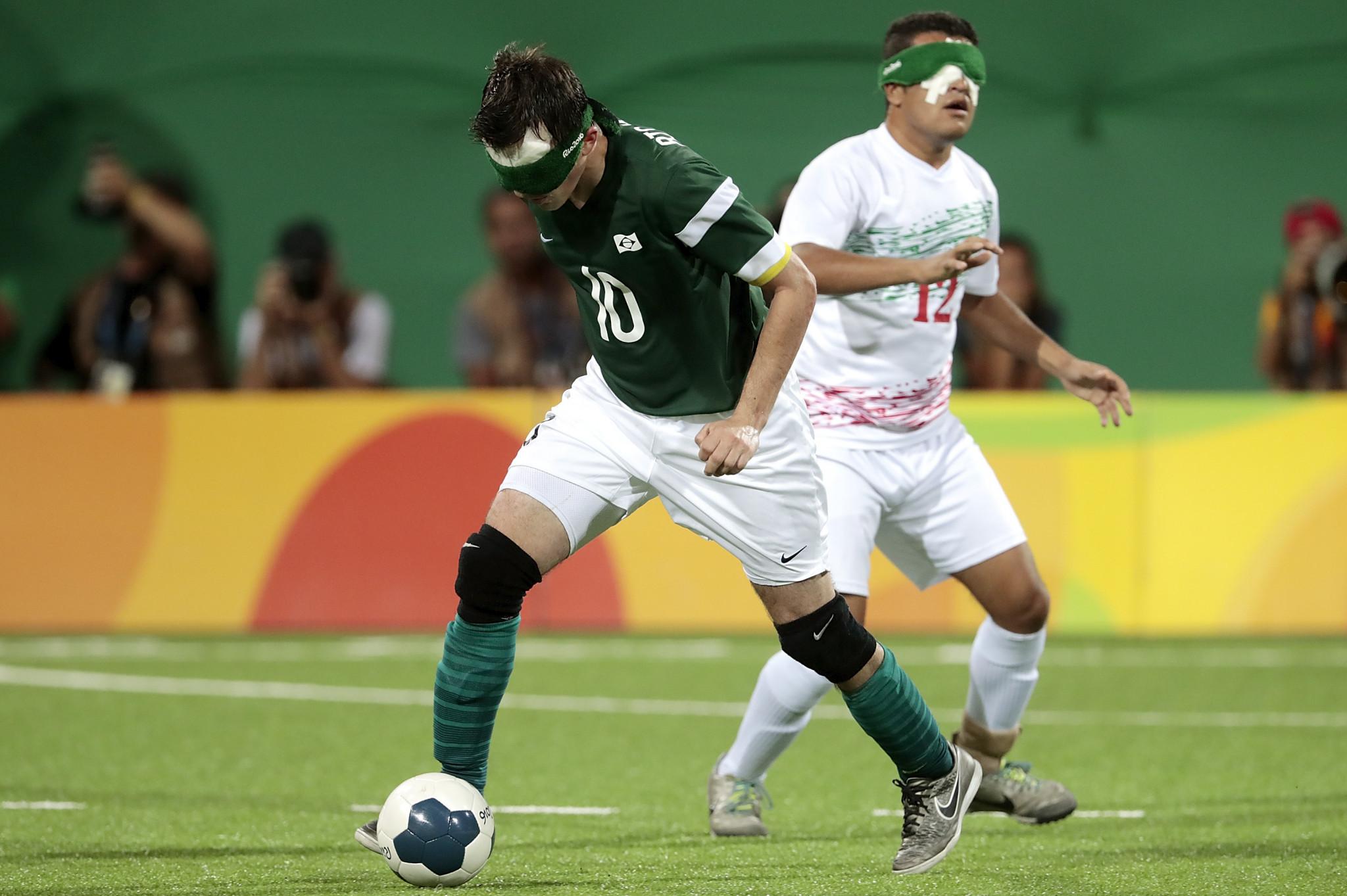 O Brasil pretende manter o título paralímpico de futebol para cegos © Getty Images