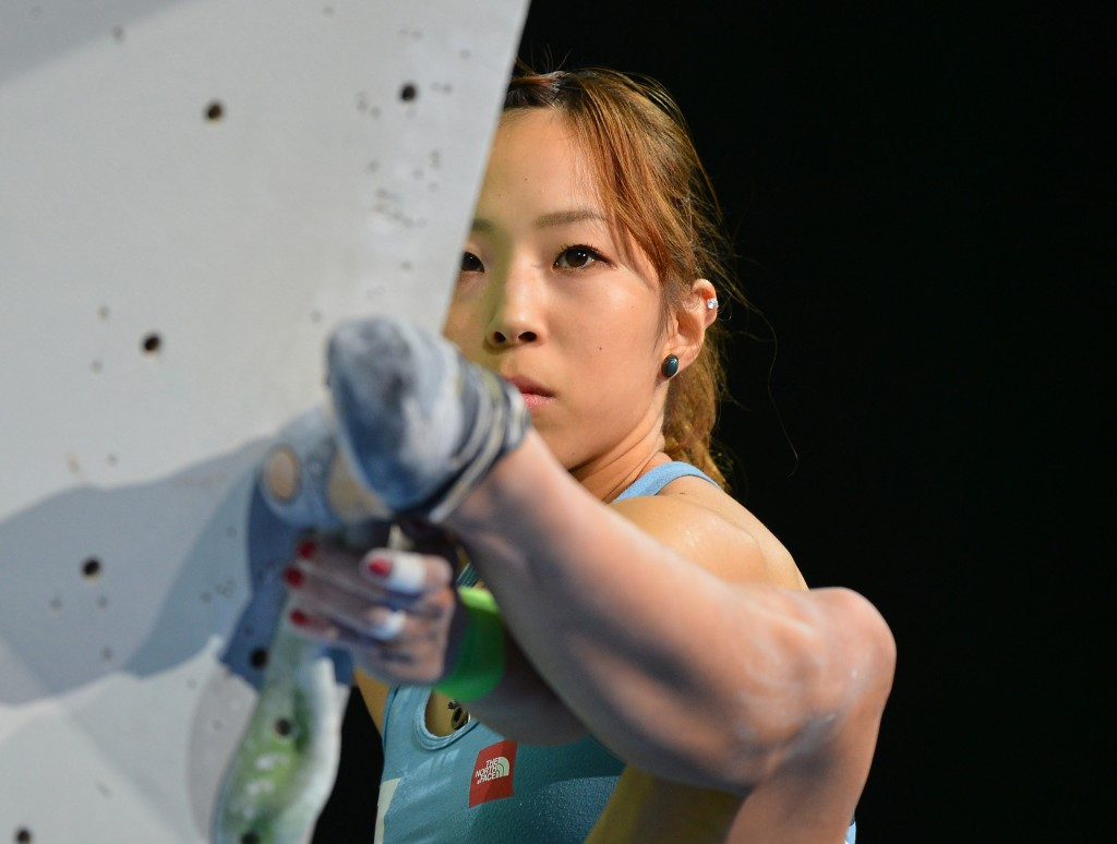 Climbing holds publicity event as drive for Tokyo 2020 inclusion continues