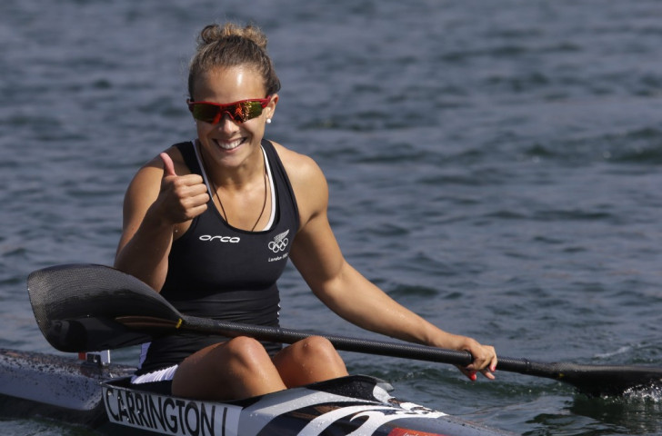 Olympic champion Carrington unphased by step up in distance at Canoe Sprint World Cup season opener