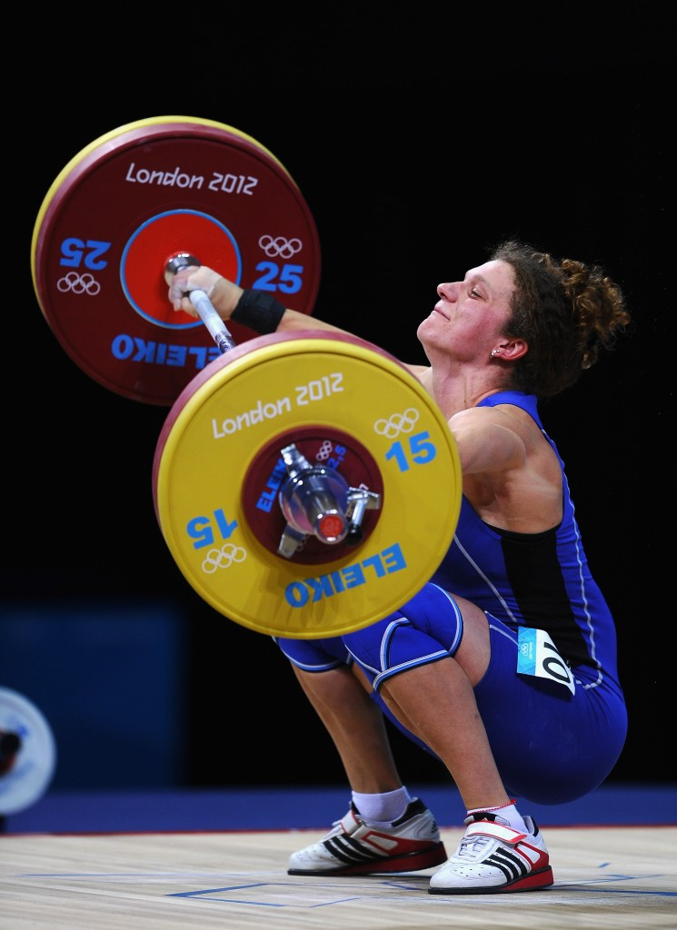 Milka Maneva was one of 11 Bulgarian weightlifters to fail a doping test in the Rio 2016 qualification period  ©Getty Images