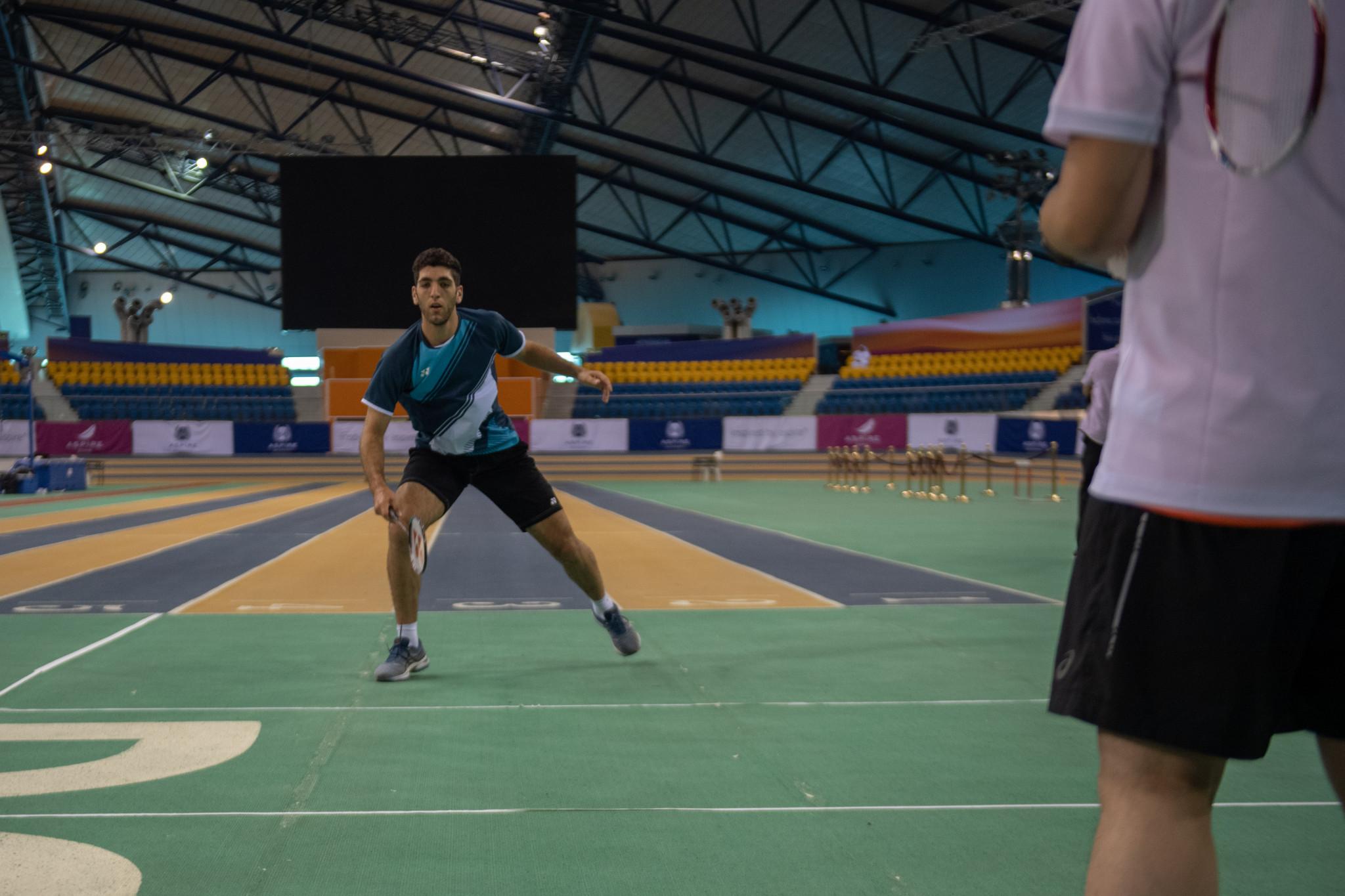 Les 29 membres de l'équipe olympique des réfugiés se sont entraînés pour les Jeux de Tokyo 2020 dans la zone Aspire de Doha.  © COQ