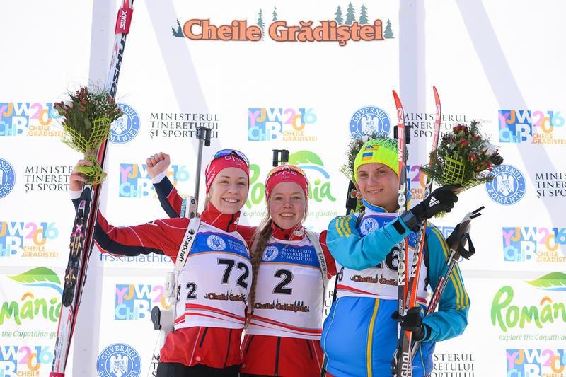 Erdal and Malinovskii secure youth sprint gold at IBU Junior World Championships