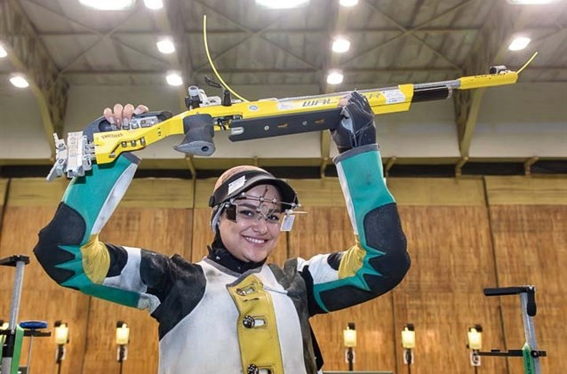 Iranian holds nerve to claim Asian Shooting Olympic Qualifier gold