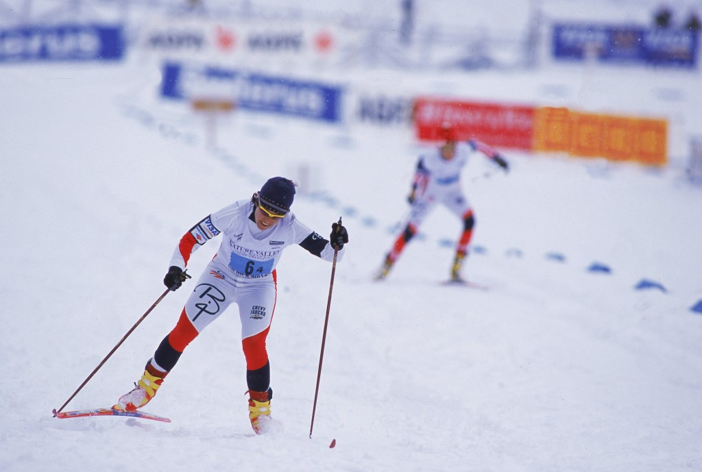 Skier Sarah Konrad signed the letter calling for greater action to be made ©Getty Images
