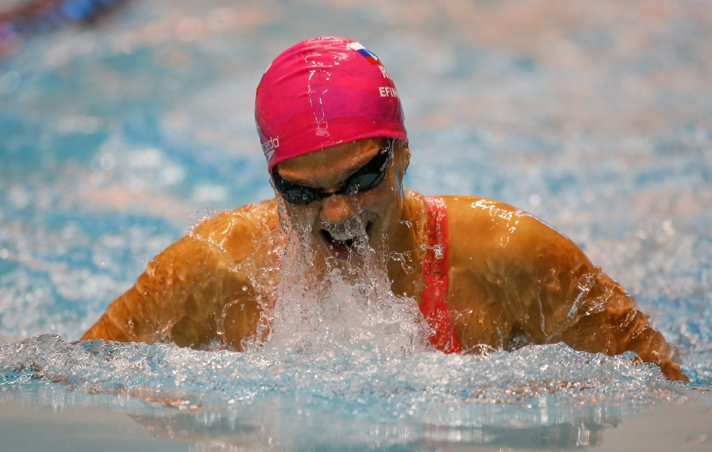 Four-time swimming world championYulia Efimova is one of a number of high-profile Russian from a sport other than athletics to have failed a test in recent years ©Getty Images