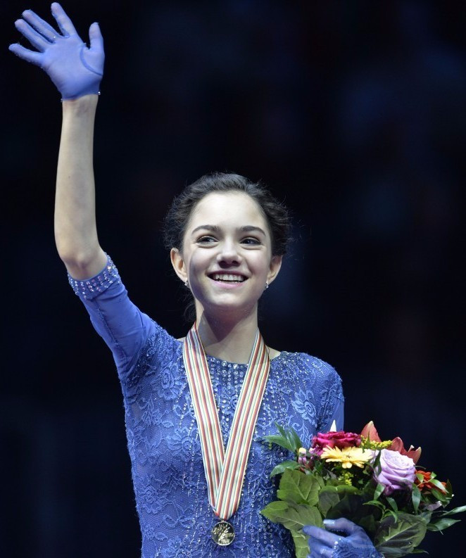 Russian teenager Medvedeva strikes gold on European Figure Skating Championships debut