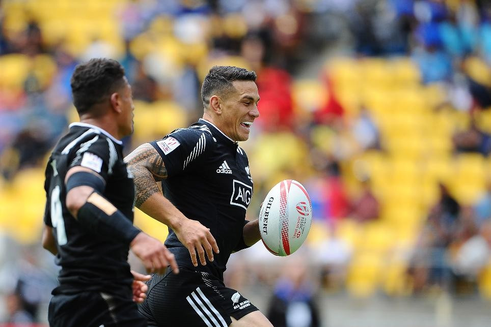 Williams stars as New Zealand reach quarter-finals with hat-trick of victories at World Rugby Sevens Series