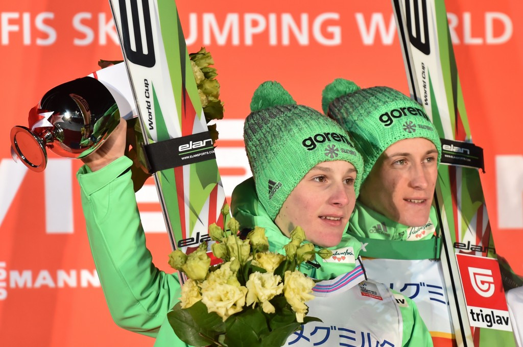 Prevc brothers lead Slovenian domination at Ski Jumping World Cup in Sapporo