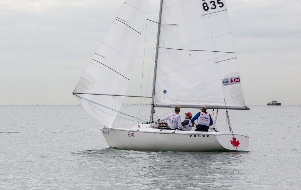 Tingley leads Canadian Sonar team to victory as Para-racing concludes at Sailing World Cup in Miami