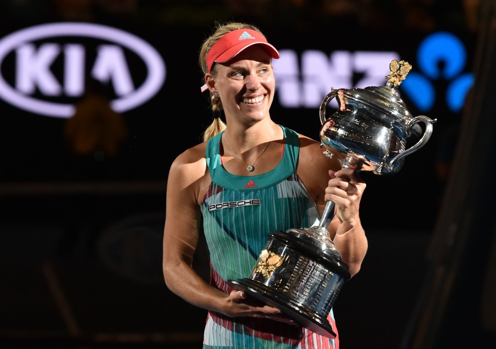 Kerber stuns world number one Williams at Australian Open to claim maiden Grand Slam title