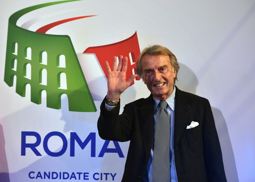 Luca di Montezemolo says opposition to Rome's bid for the 2024 Olympic and Paralympic Games prevents the improvement and growth of the city ©Getty Images