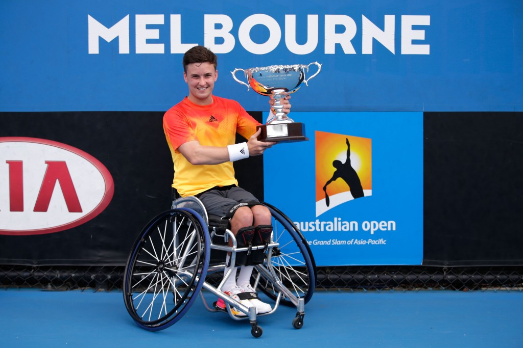 Reid wins at Australian Open to claim Britain's first men's wheelchair singles Grand Slam title