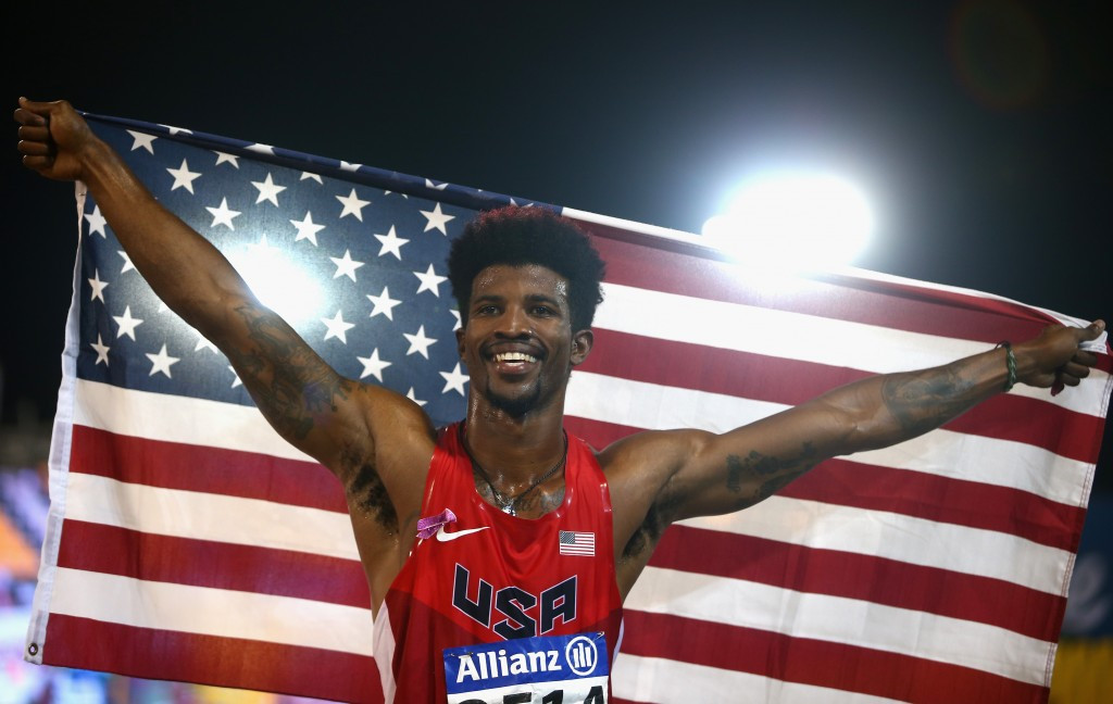Car crash victim Browne headlines US Paralympics track and field team for 2016