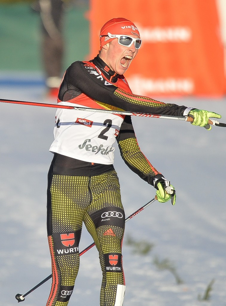 Frenzel wins again to take overall Nordic Combined World Cup lead