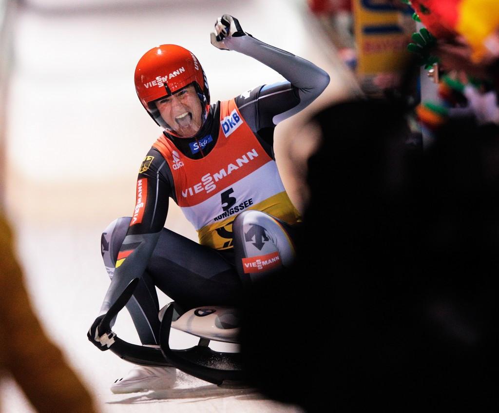 Geisenberger defends Luge World Championships title in Königssee