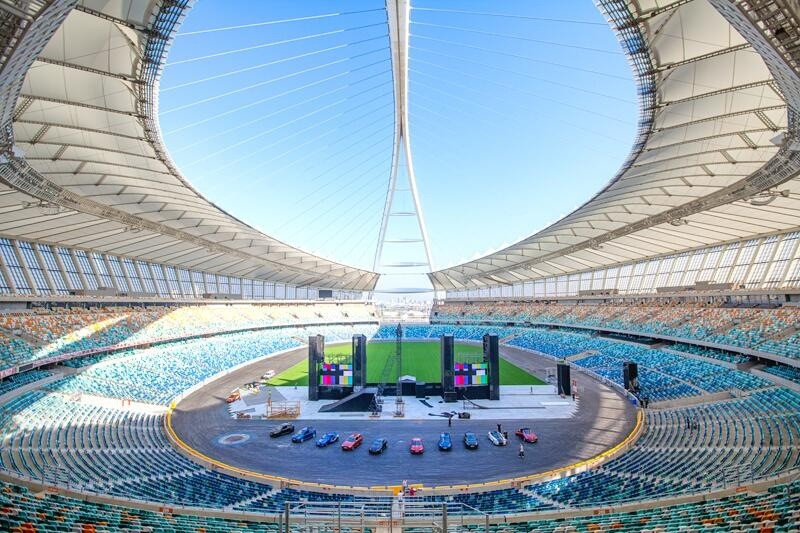 The Moses Mabhida Stadium is set to be placed under new management in a bid to make it profitable ©Getty Images