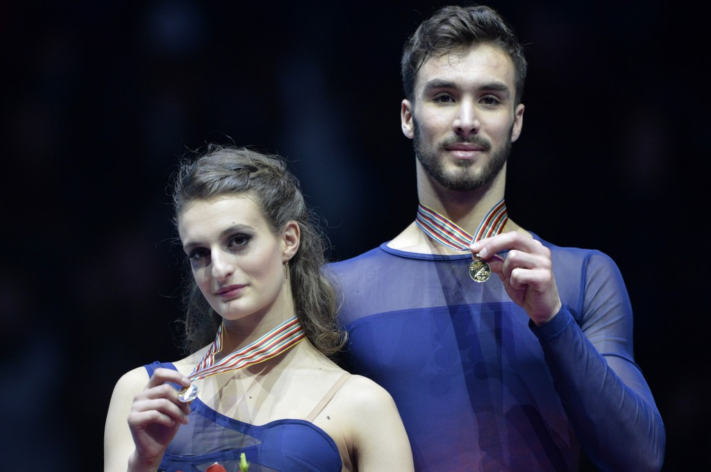 French duo retain ice dance crown as European Figure Skating Championships come to a close