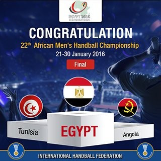 Egypt fight back to beat Tunisia and win African Men's Handball Championships