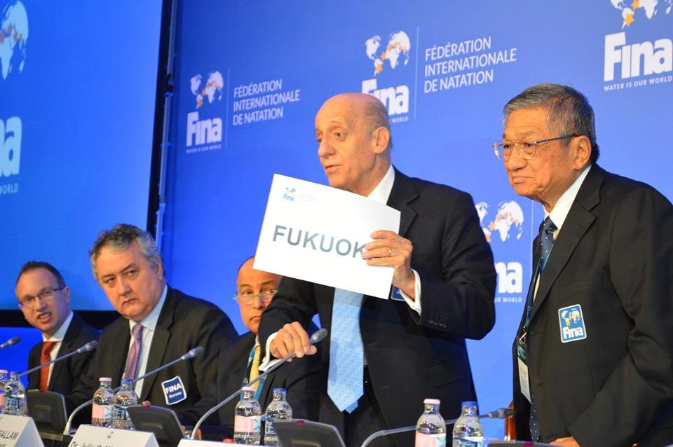 Fukuoka and Doha awarded 2021 and 2023 FINA World Aquatics Championships