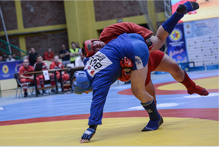 Russia at the treble again on day two of European Sambo Championship