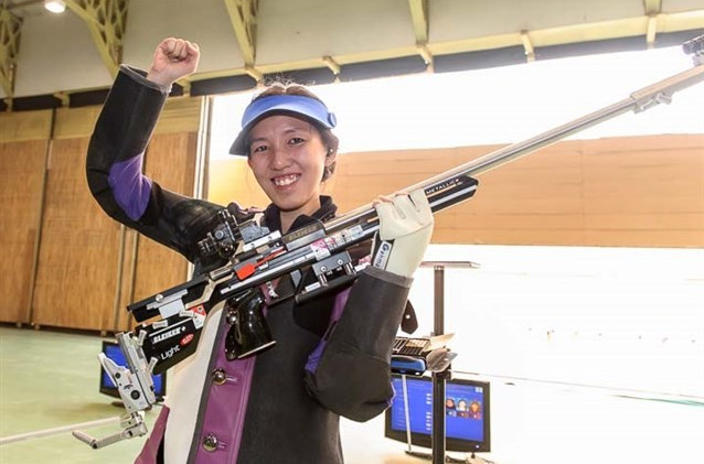 Singapore and South Korea on target with victories at Asian Olympic Shooting Qualifier
