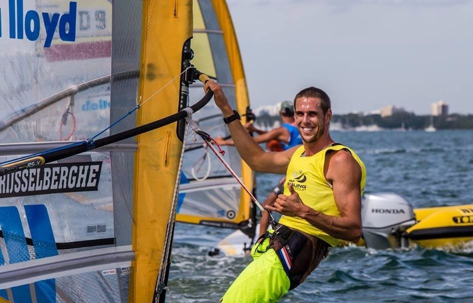 Dorian van Rijsselberghe was another champion on dominant form in Miami ©World Sailing