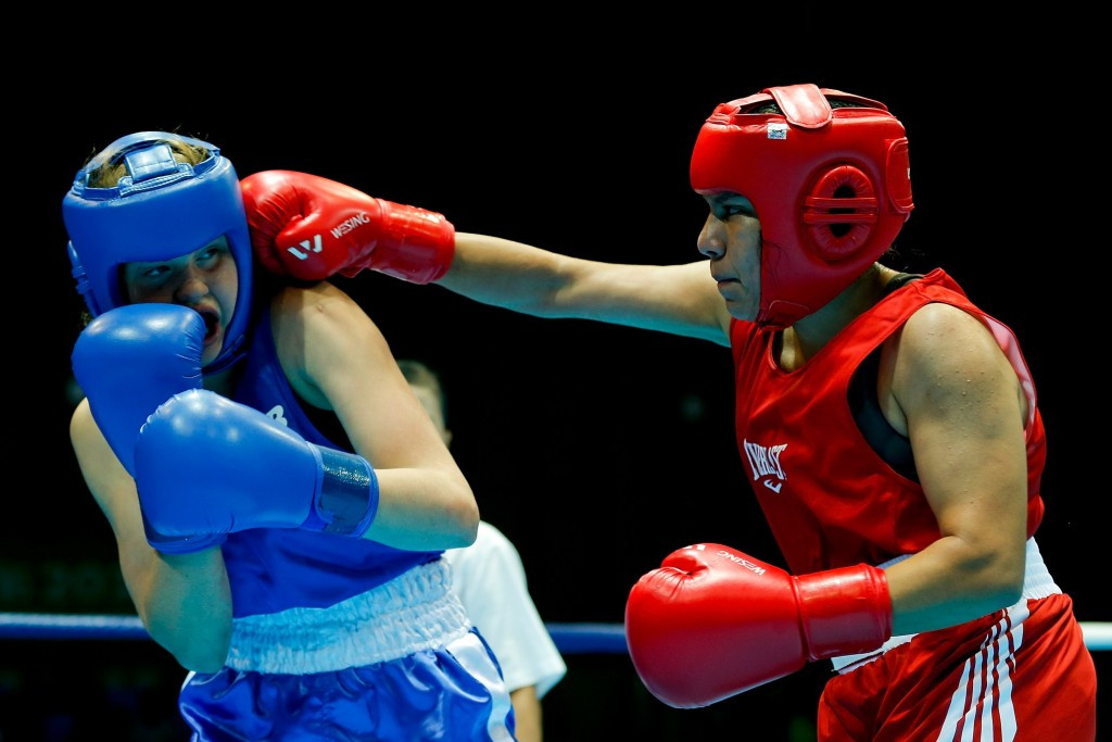 America's Jajaira Gonzalez won Youth Olympic Games gold last year in Nanjing, China