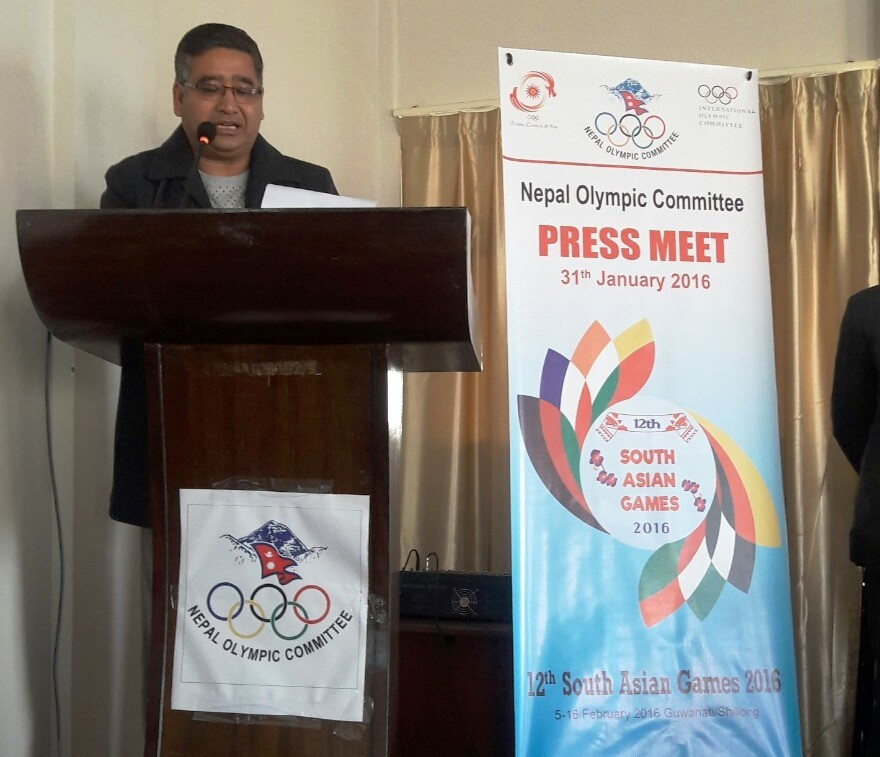 The Nepal Olympic Committee have named a team of 384 athletes for the South Asian Games ©NOC