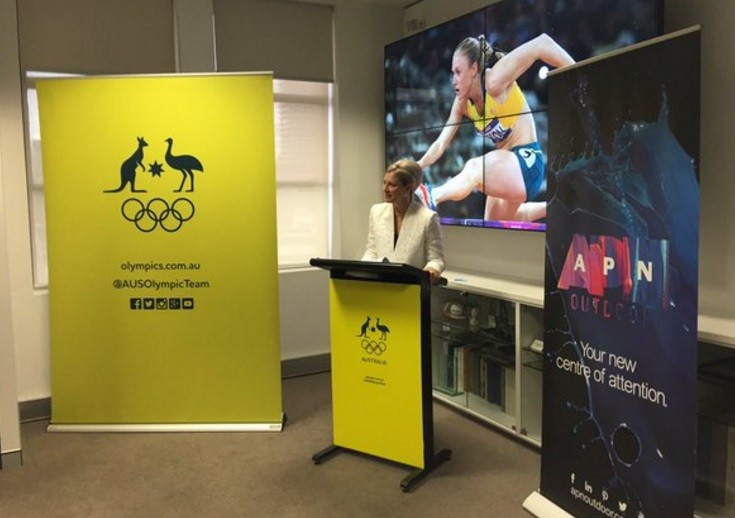 The AOC have also penned a deal with APN Outdoor to further enhance their portfolio ahead of Rio 2016