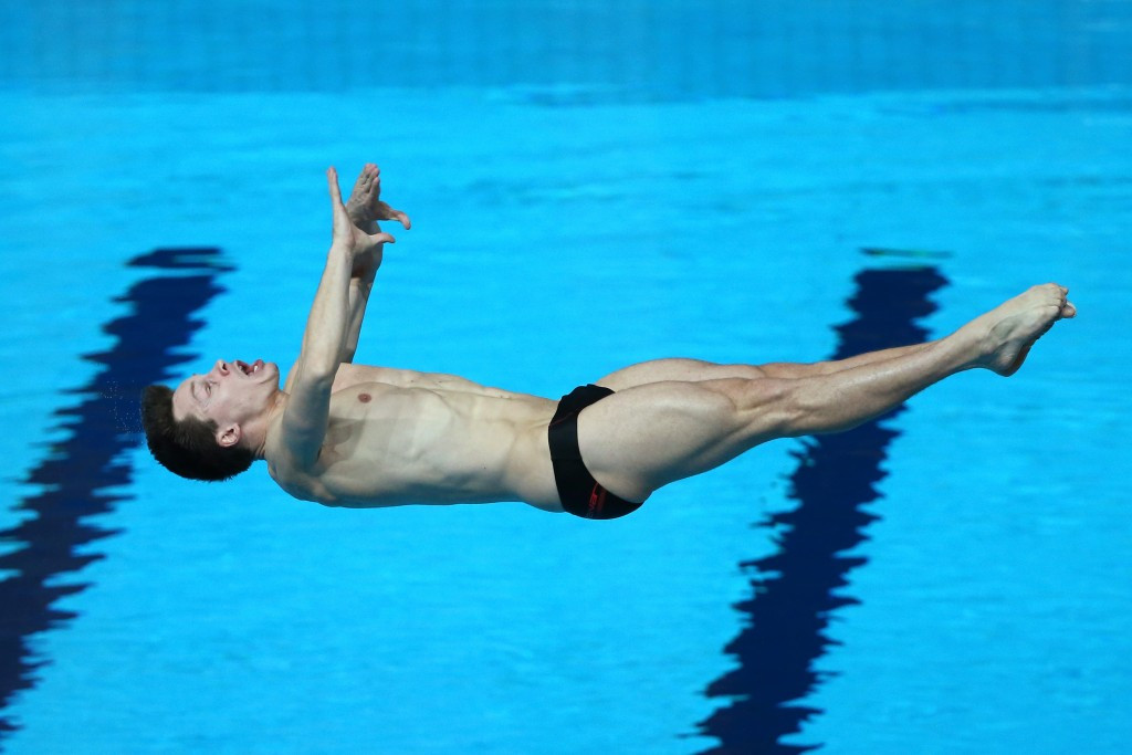 Hausding delivers home gold but China dominate again at FINA Diving Grand Prix