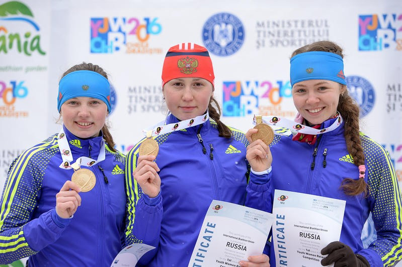 Russia and Norway scoop relay gold on penultimate day of IBU Junior World Championships